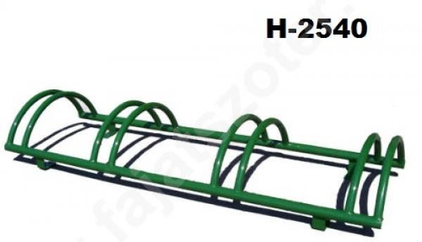 Félkörives kerékpártároló H-2540
