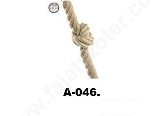 A-046 Csomózott mászókötél