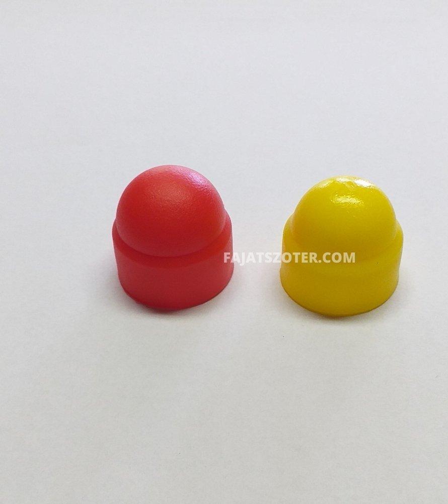 A-99 Csavarvédő kupak 13-as sárga,piros